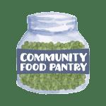 Community Food Pantry Logo