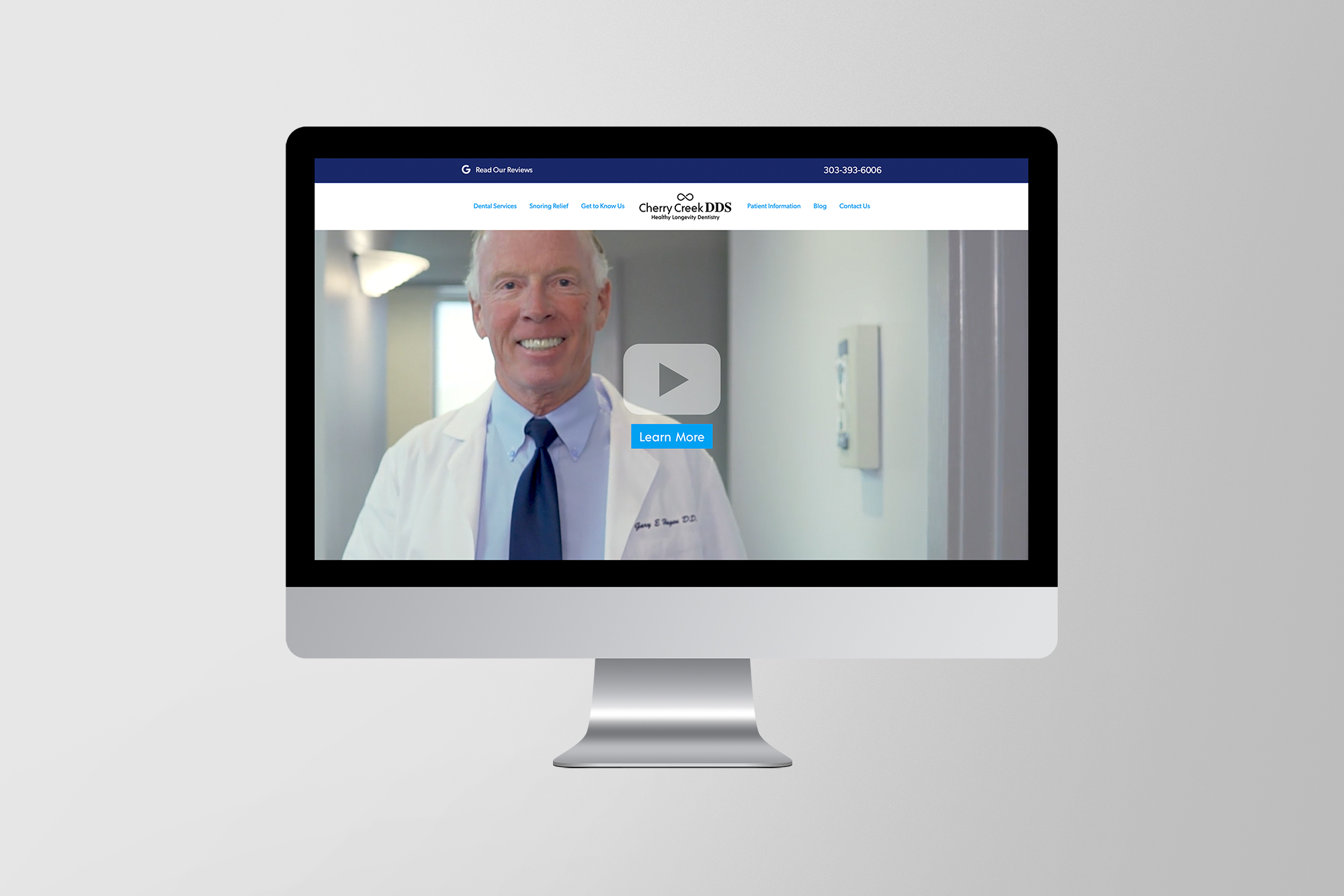 Cherry Creek DDS Website Design